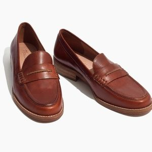 Madewell Brown Elinor loafers